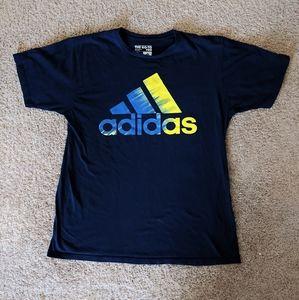 Adidas, The Go-To Tee, Dark Blue, Large